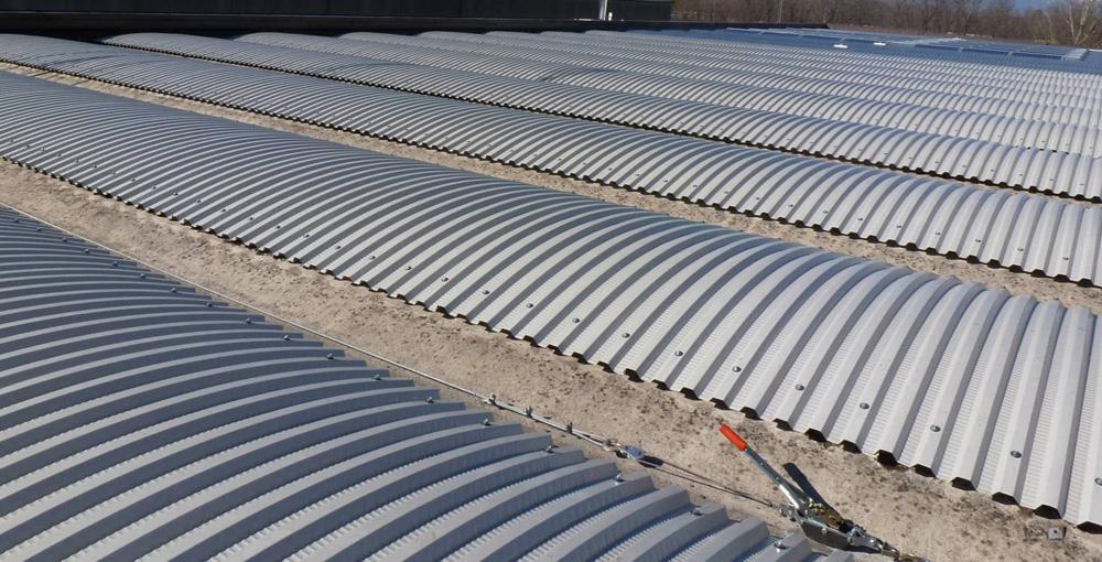 realizzazione coperture industriali bergamo